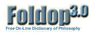 Free Online Dictionary of Philosophy